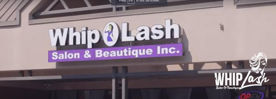 Security Installation for Whip Lash Salon & Boutique